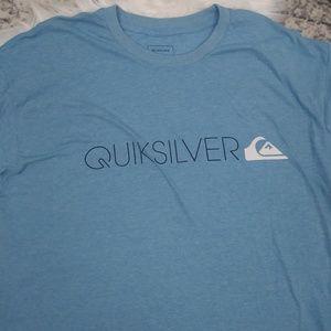 Quicksilver Mens Blue Graphic T Shirt XL